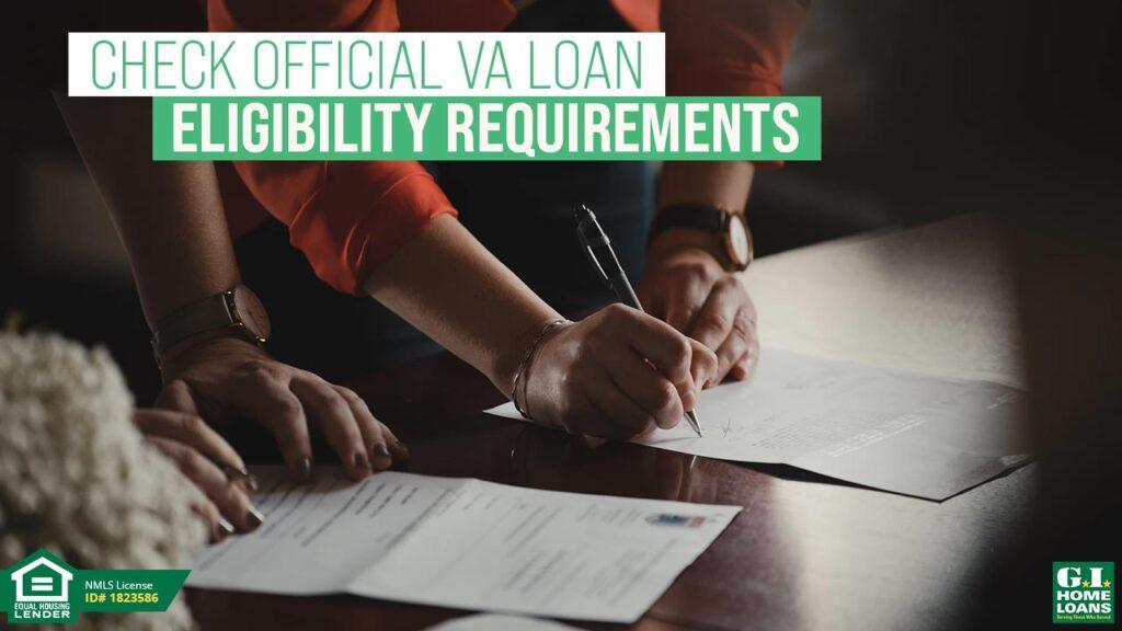 VA Home Loan Eligibility